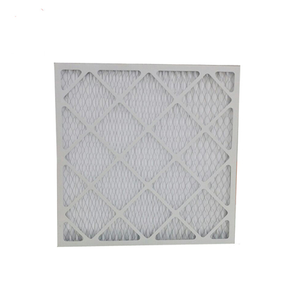 Air Conditioning Hepa Pre Filter G4 Pleated Panel Disposable Cardboard