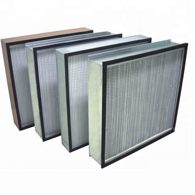 High Efficiency High Temperature Air Filter Large Dust Capture Capacity