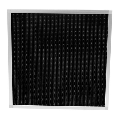 Activated Carbon Hepa Panel Filter Customized Size High Efficiency